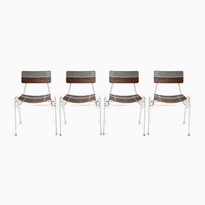 Esszimmerstühle, 1960, 4er Set