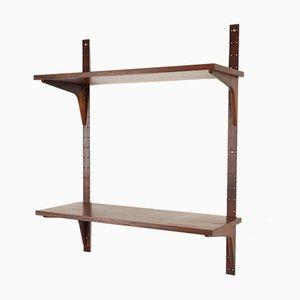 Mueble de pared danés vintage de palisandro de HG Furniture, años 60
