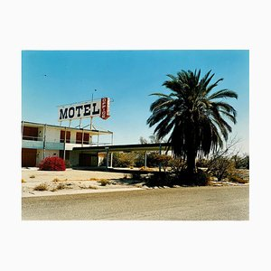 North Shore Motel Office I, Salton Sea California, Farbfotografie, 2002