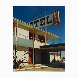 North Shore Motel Office II, Salton Sea California, Architectural Color Photo, 2003