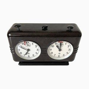 Art Deco Bakelite Chess Clock, Czechoslovakia, 1930s