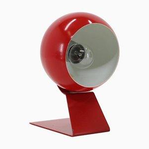 Red Adjustable Table Lamp, Germany, 1960s