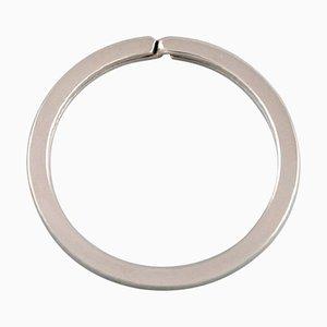 Schlüsselring aus Sterling Silber von Tiffany & Company, New York, spätes 20. Jh