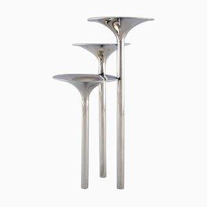 Moderne Dreiarmige Vase von Lino Sabattini für Christofle