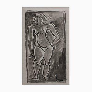 Desnudo de pie de Louis Latapie, años 40