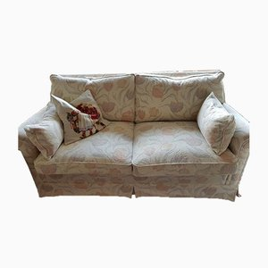 Sofa Set with Floral Pattern