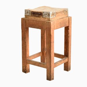 French Antique Butchers Block