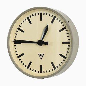 Round Czech Vintage Pragotron Clock