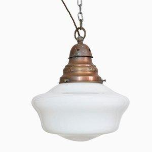 Ancient Church Opaline Pendant Light