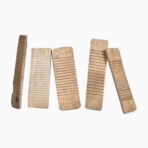 Antikes Waschbrett aus Holz