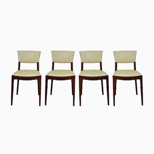 Mid-Century Danish Dining Chairs from McIntosh, Set of 4