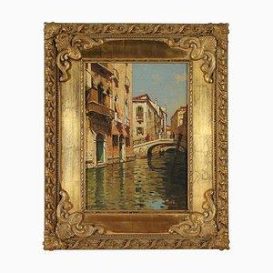Scorcio Di Venezia, Öl auf Leinwand