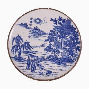Plato chino de porcelana