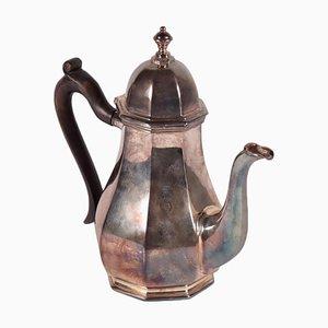 Silberne Kaffeemaschine