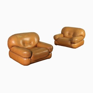 Armchairs from Mobilgirgi, Set of 2