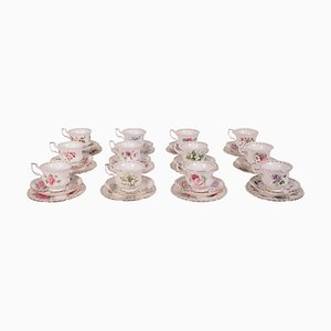 Porcelain Cups from Royal Albert, Set of 36