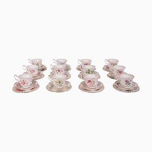 Tazze in porcellana di Royal Albert, set di 36