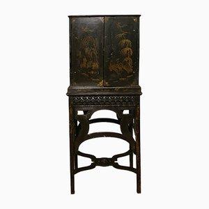 Mueble chinoiserie inglés con soporte