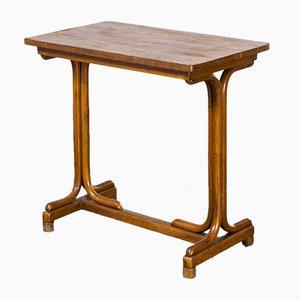 Consola de madera curvada de Michael Thonet, años 30