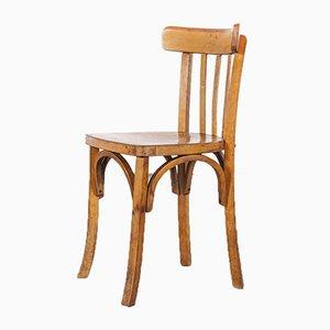 Model 1 French Baumann Bentwood Bistro Dining Chair by Joamin Baumann, 1950s