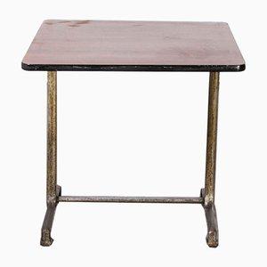 Model 1115.2 Cast Base Fischel Bistro Dining Table, 1950s