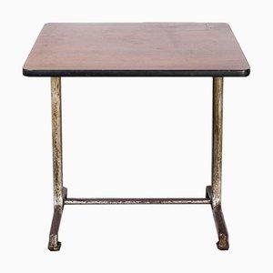 Model 1115 Cast Base Fischel Bistro Dining Table, 1950s