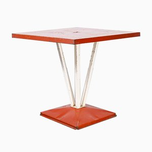 French Tolix Model 1116.1 Outdoor Dining Table, 1950s