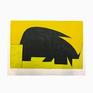 Victor Vasarely, Garam, 1972, Litografía original