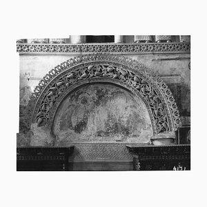 Osvaldo Böhm, Longobardo Temple in Venice, Vintage Photo, Early 20th Century