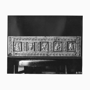 Osvaldo Böhm, Byzantinisches Relief in Venedig, Vintage Photo, Frühes 20. Jh