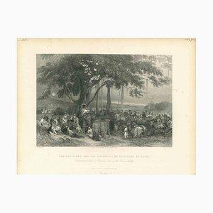Verschiedene Künstler, Cavalcade of Seiks, 1850er, Original Lithographie