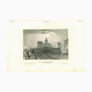 Verschiedene Künstler, Die Kasan-Kirche (St. Petersbourg), 1850er, Original Lithographie