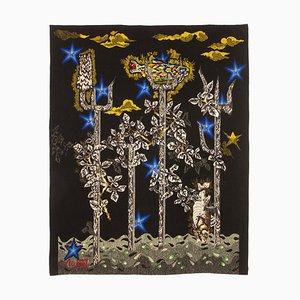 Little Neptune Wool Tapestry by Jean Lurçat for Gisèle Brivet Workshop, France