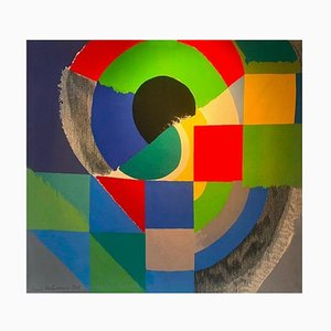 Wool Finistère Tapestry by Sonia Delaunay, 1960s