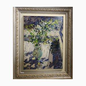 Georgij Moroz, Wild Cherry, óleo sobre lienzo, 1996