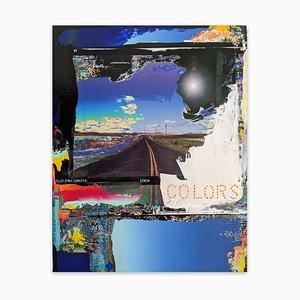 Farben, abstrakte Fotografie, 2021