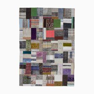 Multicolor Kilim Patchwork Rug