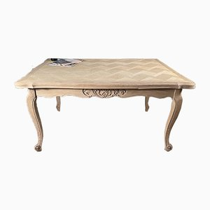 Antique French Oak Extending Dining Table