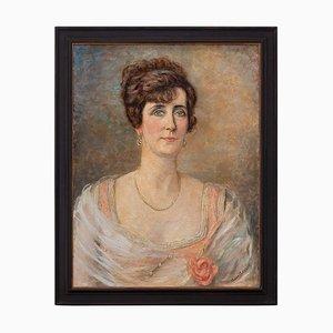 Portrait einer Frau von Eleanor Stewart Wood