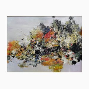 Diao Qing-Chun, Arte chino contemporáneo, Serie the Landscape No.1 2020