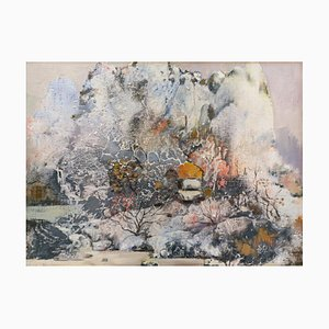 Diao Qing-Chun, Chinese Contemporary Art, Series the Landscape No.9 2020