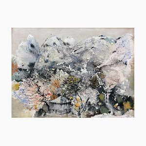 Diao Qing-Chun, Chinese Contemporary Art, Series the Landscape No.8 2020