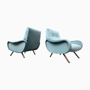 Mid-Century Model Lady Chairs by Marco Zanuso for Arflex, 1950s, Set of 2