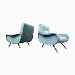 Mid-Century Modell Lady Chairs von Marco Zanuso für Arflex, 1950er, 2er Set