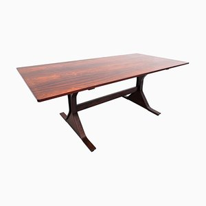Mid-Century Holztisch von Gianfranco Frattini für Bernini, 1960er