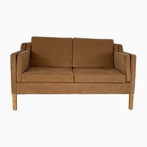 Mogensen Style 2 Seater Light Brown Sofa from Stouby