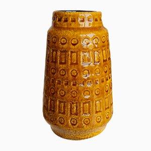 Mid-Century West German Rustic Ceramic Model 260-18 Vase from Scheurich, 1970s
