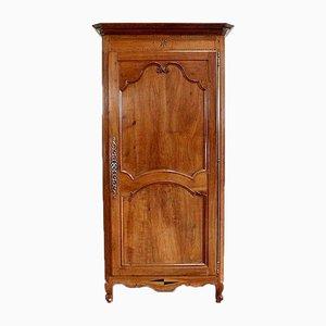 Alacena estilo Luis XV de madera de cerezo