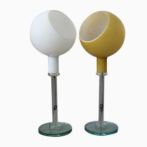 Modell Parola Tischlampen von Fontana Arte, 2er Set