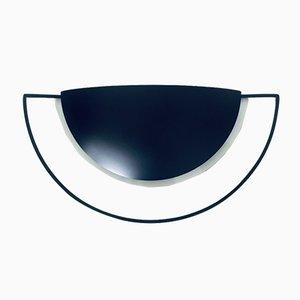 Apliques negros de Leonardo Marelli para Estiluz, años 80. Juego de 2